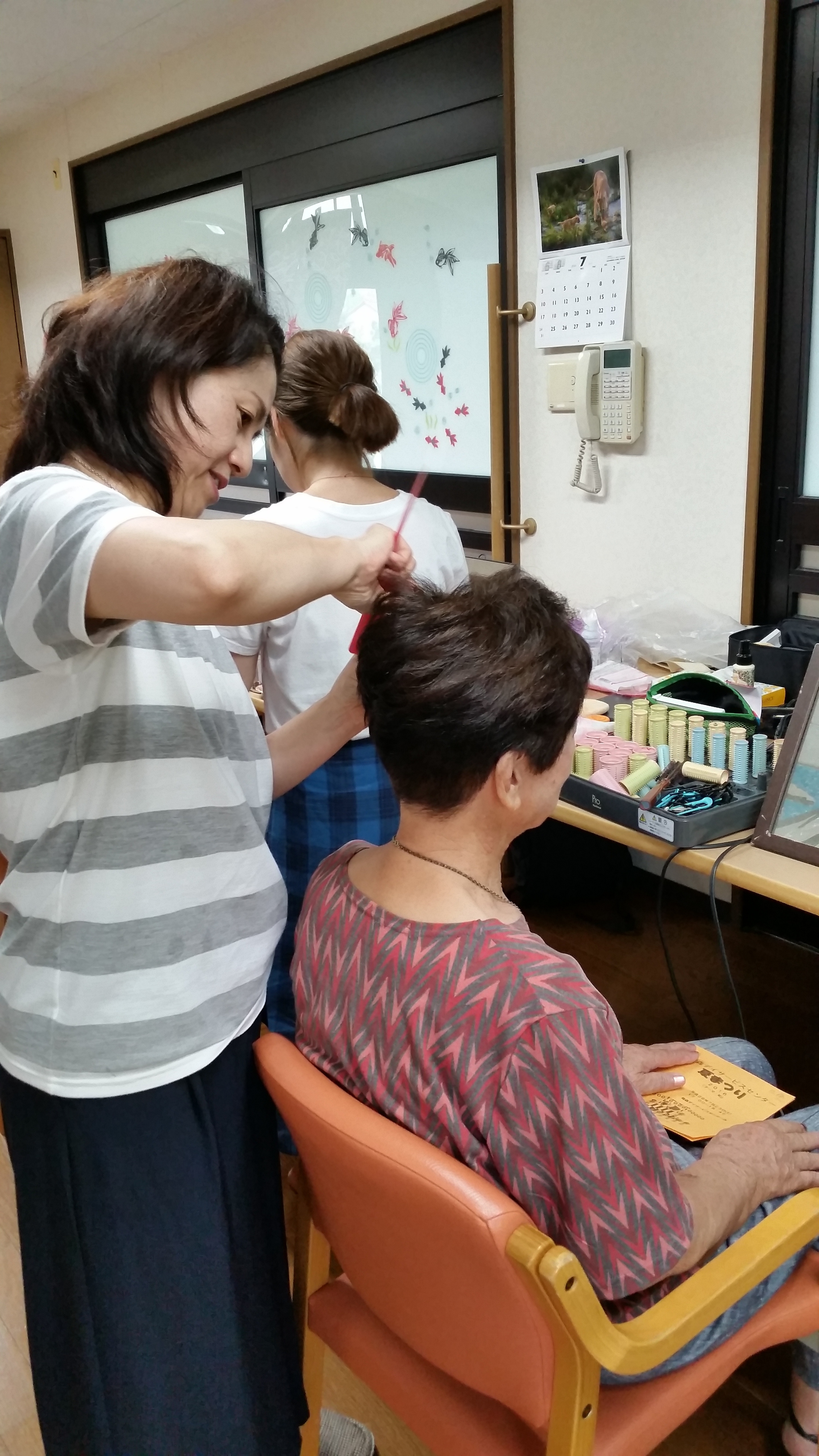 ボランティア美容師