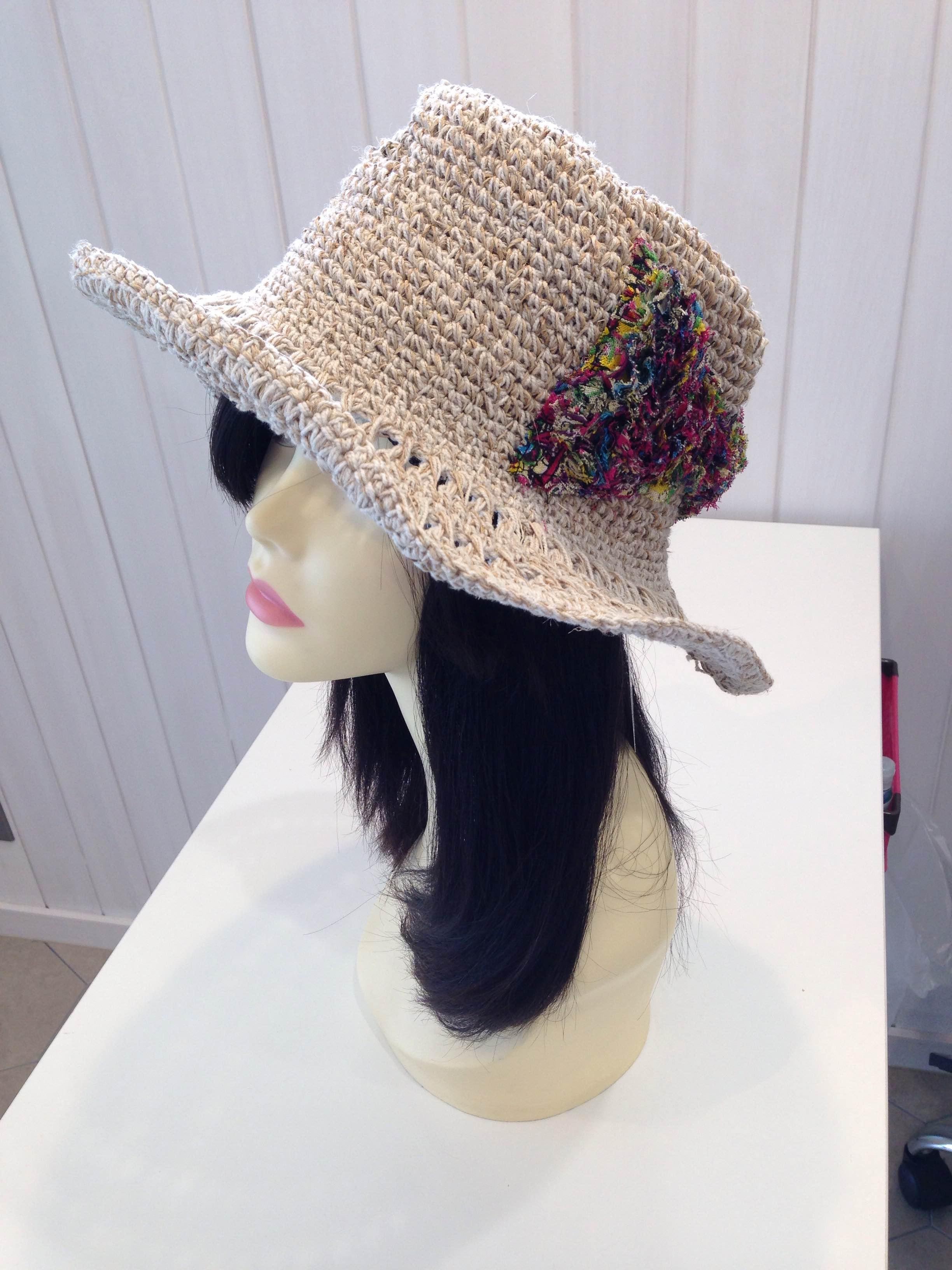 ウィッグ 夏 帽子
