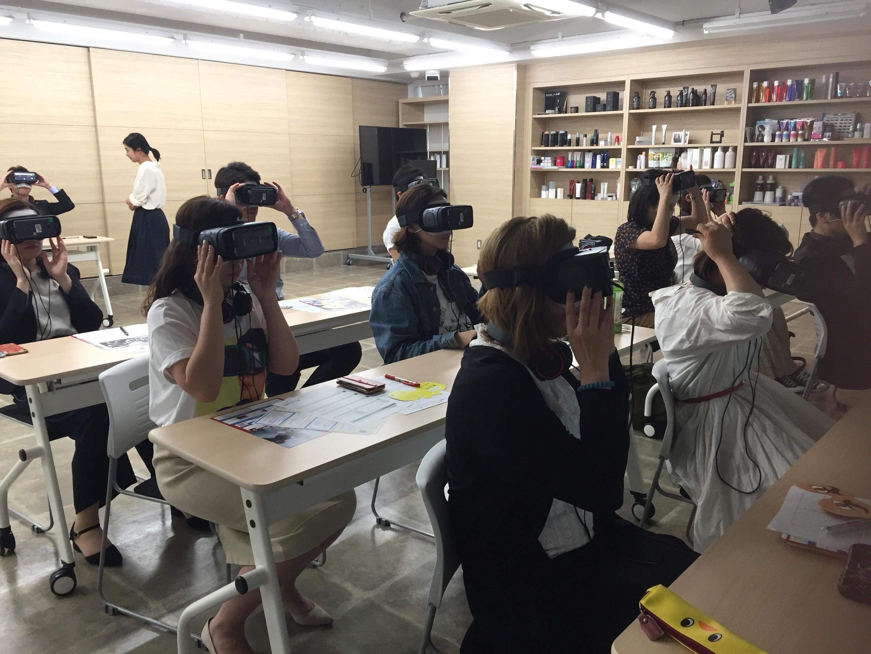 VR認知症体験